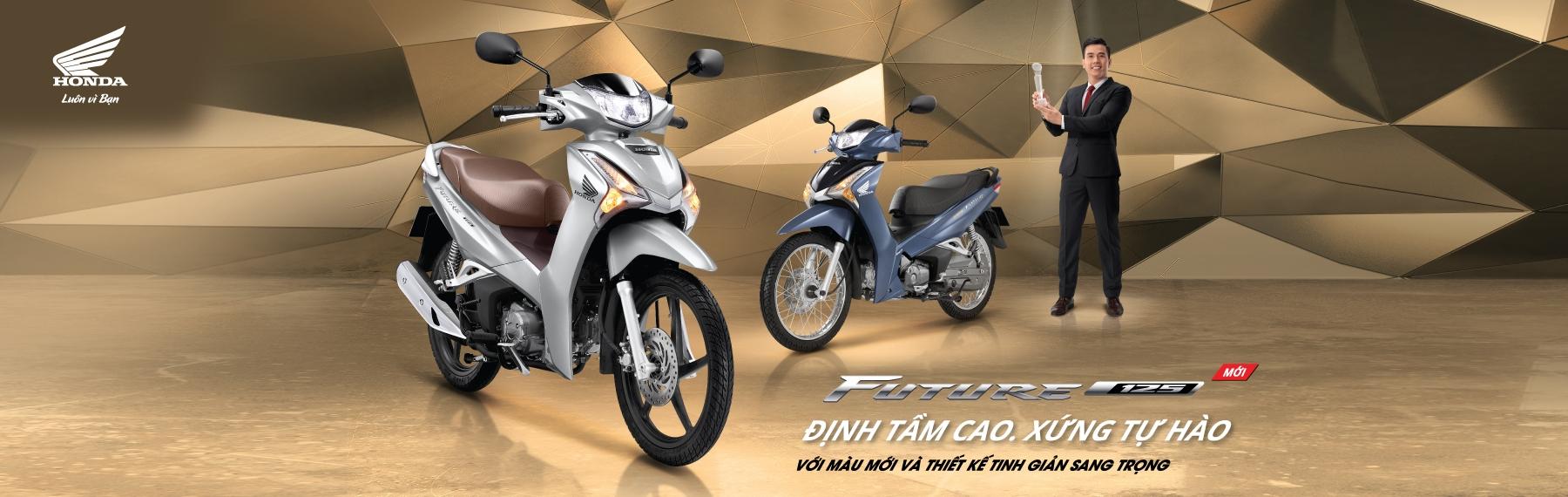 Future FI 125cc phiên bản mới – Định tầm cao, xứng tự hào