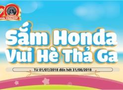 LỄ RÚT THĂM SẮM Honda - VUI HÈ THẢ GA