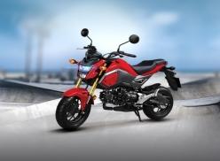 Honda Việt Nam ra mắt xe côn tay MSX 125cc phiên bản hoàn toàn mới