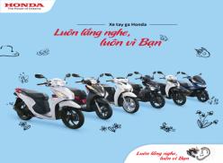 Thanh xuân của bạn có từng ao ước sở hữu một chiếc xe tay ga Honda cho riêng mình?